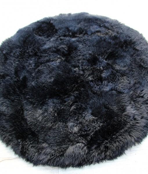 schapenvacht tapijt rond