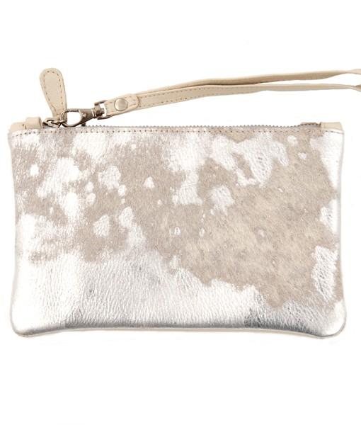 carol bag nguni silver