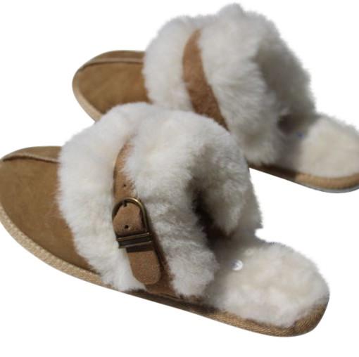 lamsvacht pantoffels
