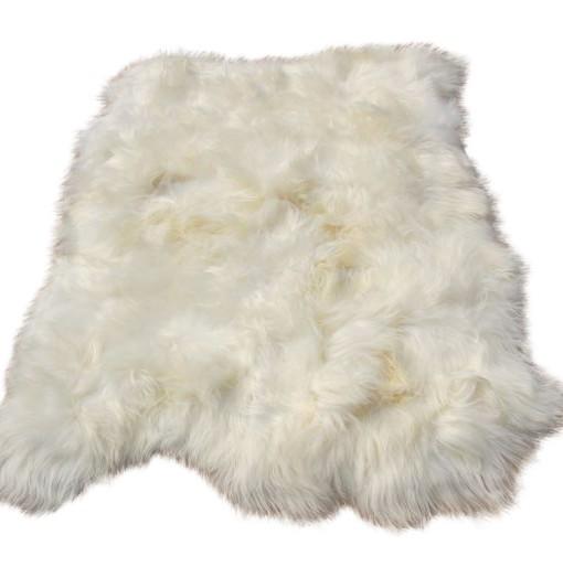 eco schapenvacht tapijt wit