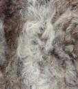 schapenvacht detail