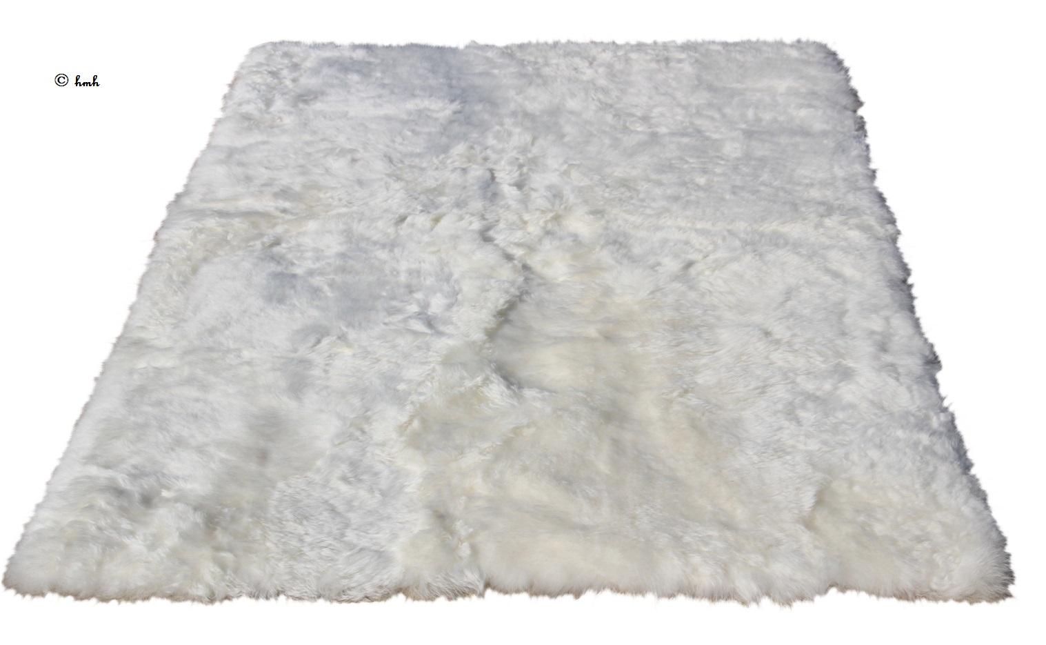 74a9fce72c72bd vloerkleed eco IJslands schapenvacht wit 160 175-110 115cm – Het ...