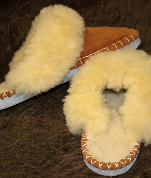 lamsvacht slippers