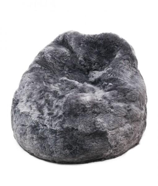 beanbag grey brisa shorn