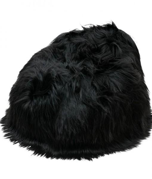 beanbag longwool blackybrown