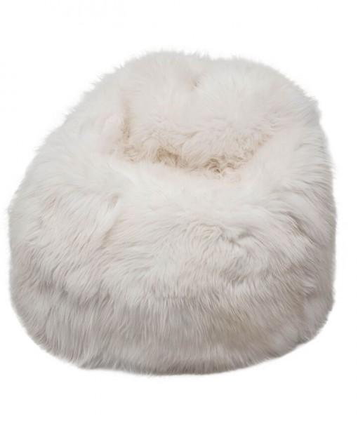 beanbag english white