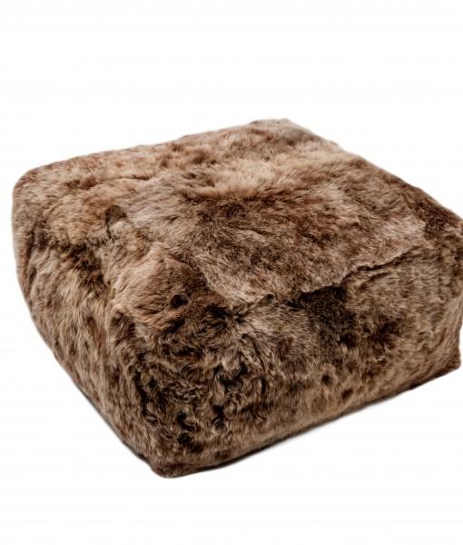 rusty brisa shorn schapenvacht beanbag
