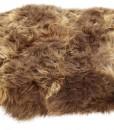 eco schapenvacht tapijt langharig bruin 6 schapenvachten