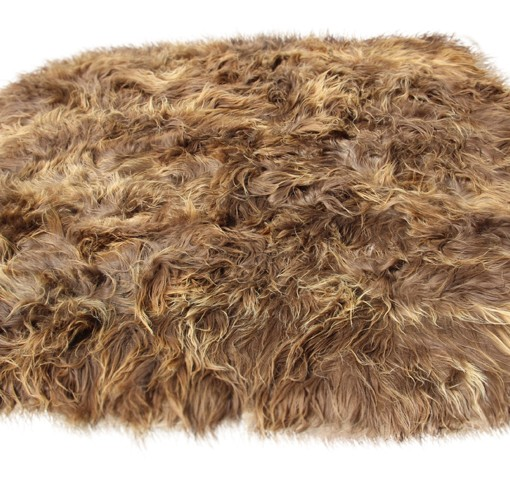 schapenvacht tapijt langhaar bestaande uit 8 eco schapenvachten