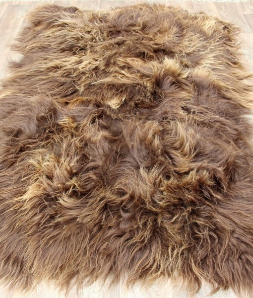 schapenvacht tapijt rusty quatro