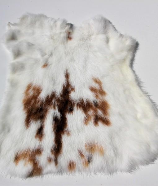 konijnenhuid- konijnenvel-gevlekt