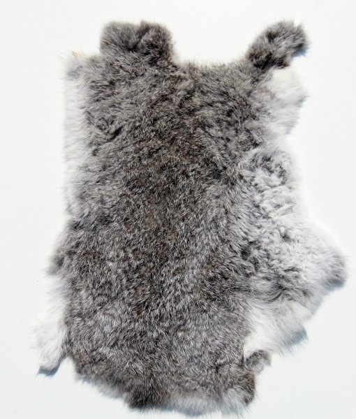 konijnhuid grijs 8