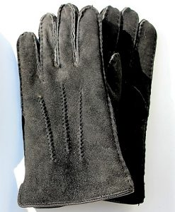 handschoenen-leder-dames-schapenvacht-zwart-
