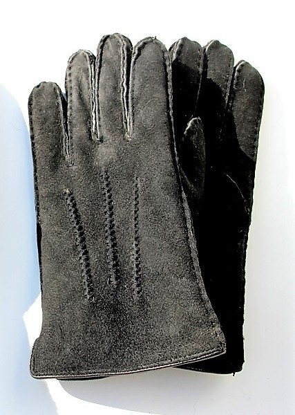 handschoenen-dames-leder-schapenvacht-zwart-