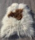 schapenvacht-langhaar-ijsland-wit-bruinnr 1017