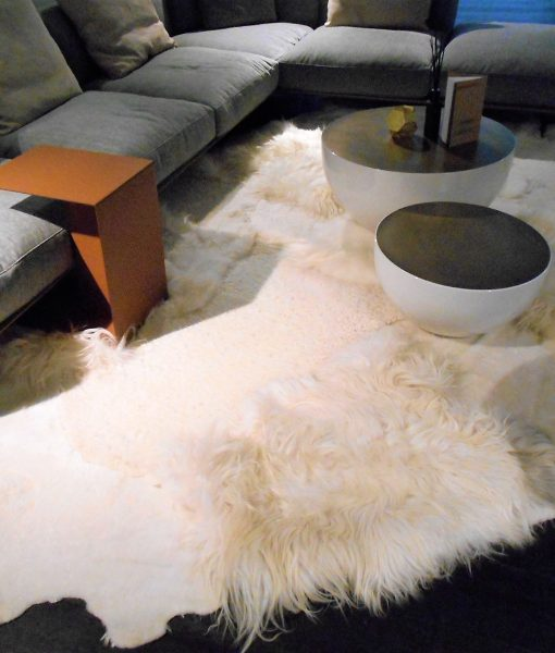 Multi-layer WHITE rug -