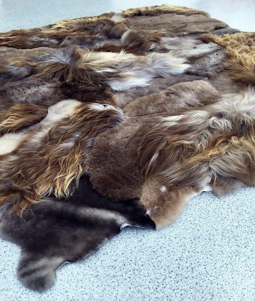 Multi-layer rug RUSTY