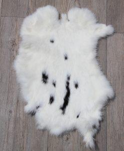 konijnenvachtje-konijnvel-witzwart