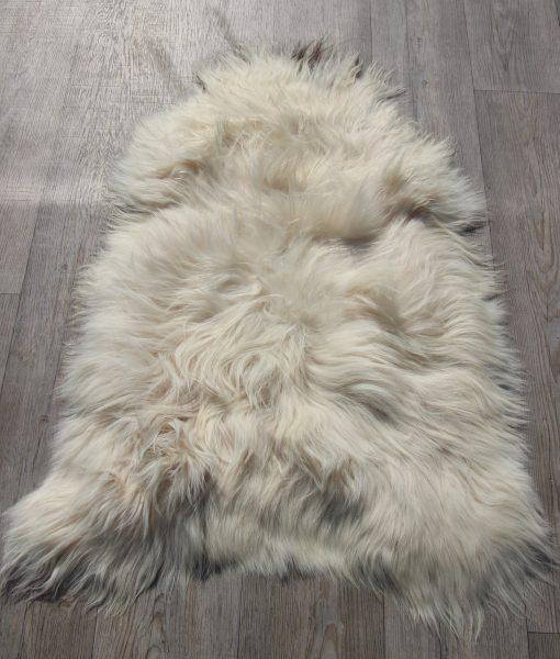 schapenvacht-langhaar-ijsland-gevlekt