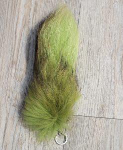 vossenstaart-sleutelhanger-groen-3