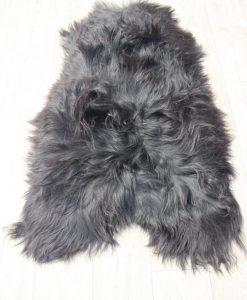 schapenvacht-schapenvel-langhaar-zwart