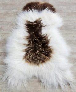 schapenvacht-bruin-wit-langhaar