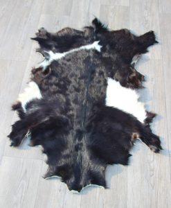 geitenhuid zwart wit