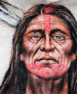 geitenhuid-geitenvel-schilderij-beschilderd-native-indian-
