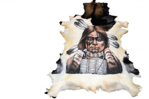 geitenhuid-kunstwerk-native Goathide-ziegenfell