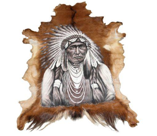 geitenhuid-beschilderd-wanddecoratie-native-indian.