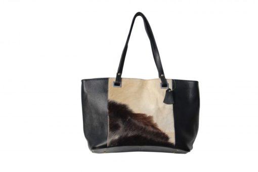 tas-koeienhuid-bruin-zwart