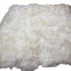 schapenvacht vloerkleed-langhaar wit