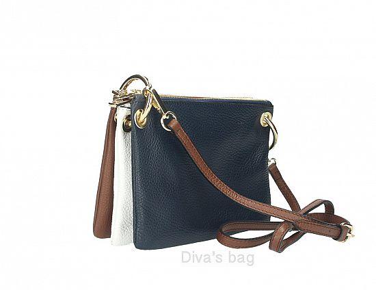 69955d0bedb Genuine Leather shoulder bag Tristana Blue – Het Millushandelshuis