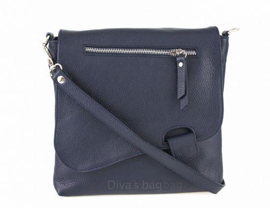 aa51364aeac Genuine Leather shoulder bag Blue – Het Millushandelshuis
