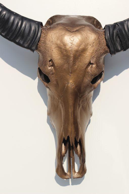 Waterbuffel design in brons