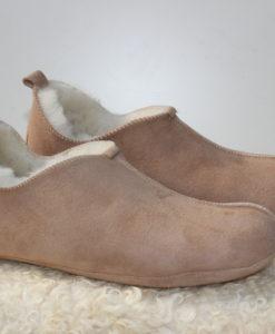 pantoffels-schapenvacht-bruin-leder-