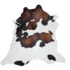 Premium kwaliteit-kalfshuid,geschikt voor tafel,hal,kinderkamer, mini koeienhuid, wit-bruin en zwart