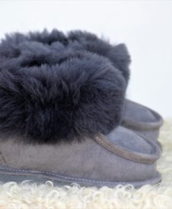 kinder-pantoffel-sloffen-schapenvacht-grijs-maat-25 (2)