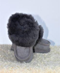 kinder-pantoffel-sloffen-schapenvacht-grijs-maat-25