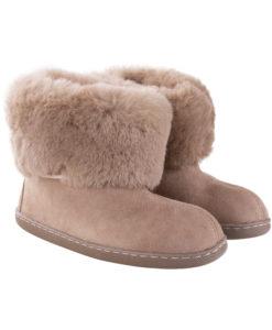 Pantoffels-donja-hd-rubber-zool-schapenvacht-bruin.