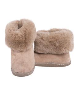 Pantoffels-donja-hd-rubberzool-schapenvacht-bruin. (2)