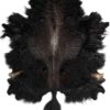 jak-koeienhuid-runderhuid-zwart-bruin-