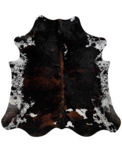 stierfell-kuhfell-teppich normandisch dreifarbich