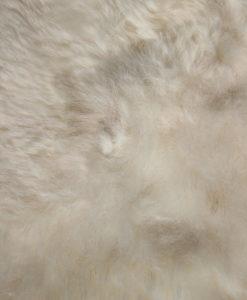 detail foto-IJslandse schapenvacht-zachte natuur witte wol