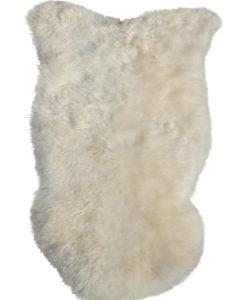 IJslandse schapenvacht-zachte natuur witte wol