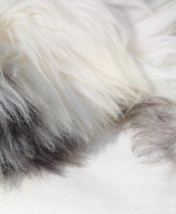 detail-grote schapenvacht offwhite grijs-