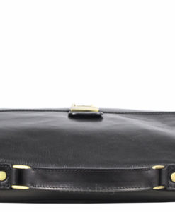 fijne kalfsleder tas voor kantoor etc