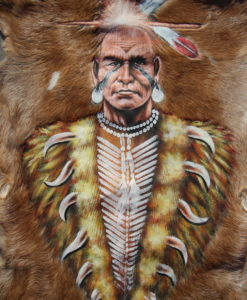 geitenhuid-schildering-indiaan