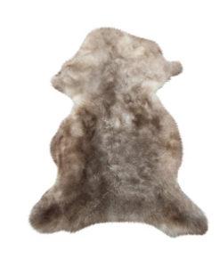schapenvacht taupe zachte wol-