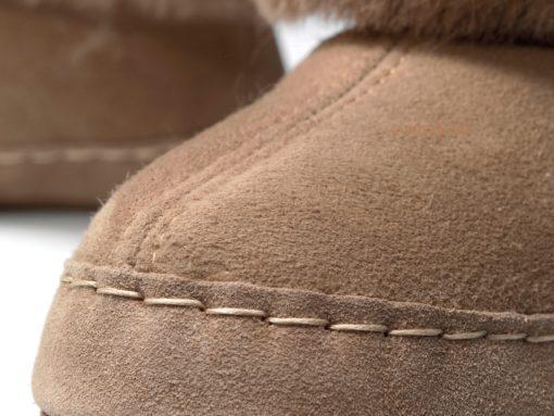 donja-hd-schapenvacht-pantoffel-bruin-leder-zool-hoog